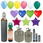 Helium-Ballongas und Heliumsets