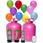 Helium und Luftballons
