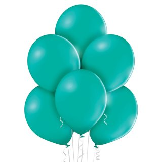 100 Luftballons Türkis Pastell 35cm