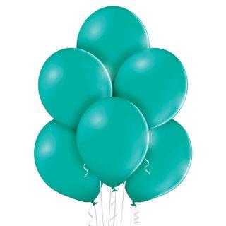 100 Luftballons Türkis Pastel 35cm