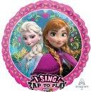 Singender Luftballon Eisprinzessin Frozen Elsa Folie...