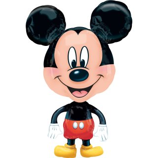 Luftballon Mickey Maus Air-Walker Folie 76cm