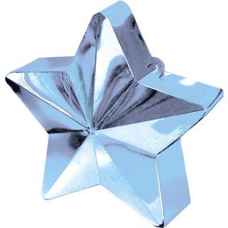 Ballongewicht Stern Blau-Hellblau 170g