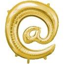 Luftballon Symbol @ Gold Folie ca 35cm