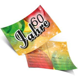 50 Ballonflugkarten 60 JAHRE