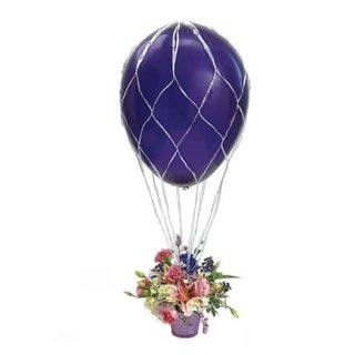 Ballon-Dekorationsnetz für Ballon bis ø60 cm ohne Gondel und Deko
