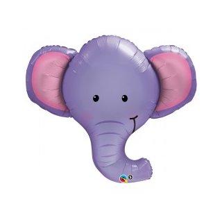 Luftballon Elefantenkopf Folie 99cm