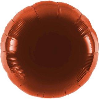 Luftballon Braun Folie ø45cm