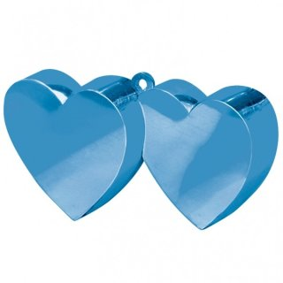 Ballongewicht Herzen BLAU 170 g