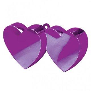 Ballongewicht Herzen VIOLETT 170 g
