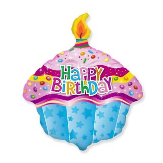 Luftballon Torte Happy Birthday Folie 45cm
