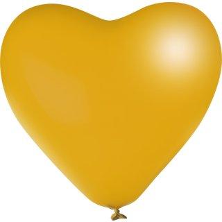 Herzballon Gold ø40cm