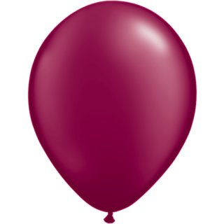 100 Luftballons Burgund Kristall ø30cm