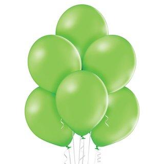 100 Luftballons Grün-Limonengrün Pastell ø23cm