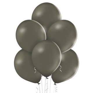 100 Luftballons Grau Pastell ø30cm