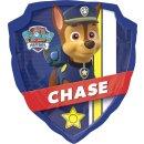 Luftballon Paw Patrol Chase Abzeichen Folie 68cm