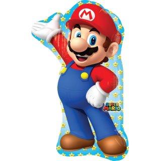 Luftballon Super Mario Folie 83cm