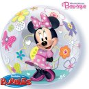 Luftballon Minnie Maus Bubble Folie ø55cm