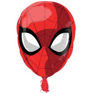 Luftballon Spidermankopf Folie 50cm