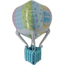 Luftballon Heißluftballon Boy Folie 91cm