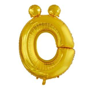 Luftballon Buchstabe Ö Gold Folie ca 86cm