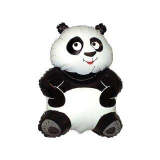 Luftballon Panda Folie 89cm