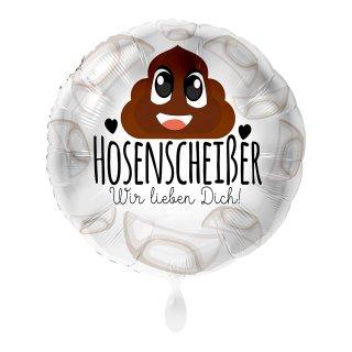 Luftballon Hosenscheißer Folie ø43cm