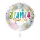 Luftballon Juhu Bestanden Folie ø45cm