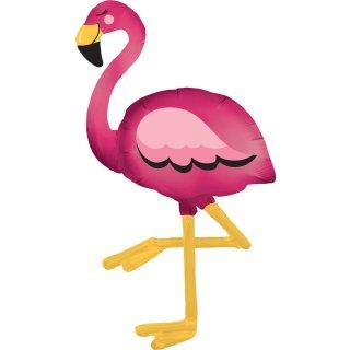 Luftballon Flamingo Air-Walker Folie 172cm