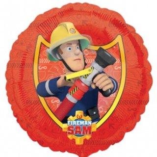 Luftballon Feuerwehrmann Sam Folie ø43cm
