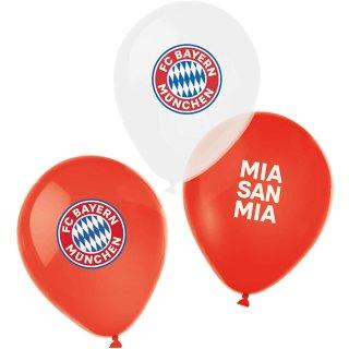 6 Luftballons FC Bayern München ø28cm