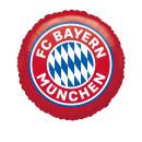 Luftballon FC Bayern München Folie ø45cm