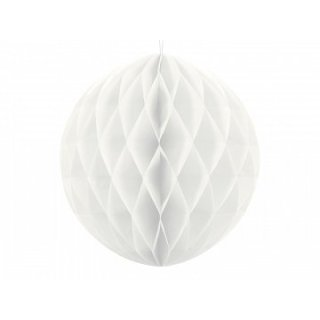 Wabenkugel Weiß ø30cm
