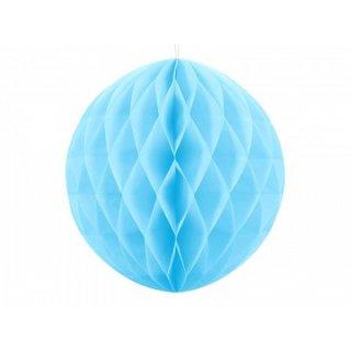 Wabenkugel Blau-Hellblau ø30cm