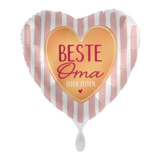 Luftballon Beste Oma aller Zeiten Folie ø43cm