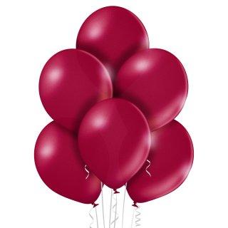 8 Luftballons Burgund Metallic ø30cm