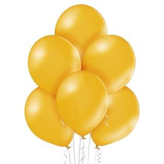 8 Luftballons Gold Metallic ø30cm