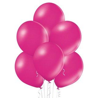 8 Luftballons Fuchsia Metallic ø30cm