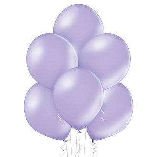 8 Luftballons Violett-Lavendel Metallic ø30cm