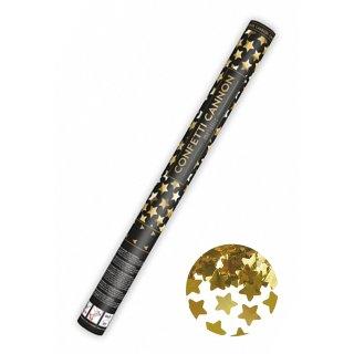 Konfettikanone Sterne Gold 60cm