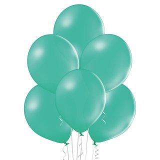8 Luftballons Grün-Waldgrün Standard ø30cm