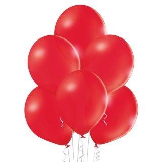 8 Luftballons Rot Pastel ø30cm