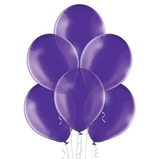 8 Luftballons Violett Kristall ø30cm