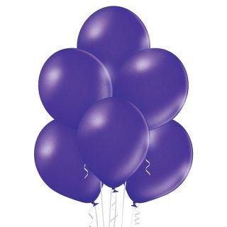 8 Luftballons Violett Metallic ø30cm