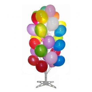 Ballonbaum für 50 Ballons Weiß