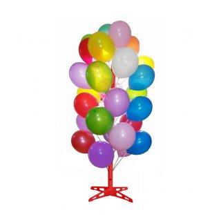 Ballonbaum für 50 Ballons Rot
