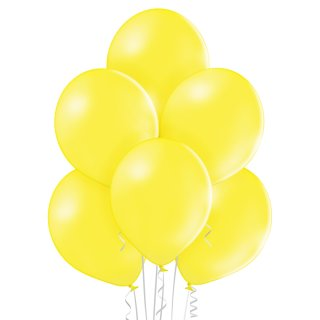 100 Luftballons Gelb Standard ø23cm