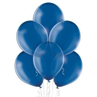 100 Luftballons Blau Kristall ø30cm