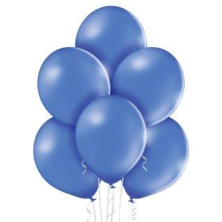 100 Luftballons Blau-Kornblumenblau Pastell ø30cm