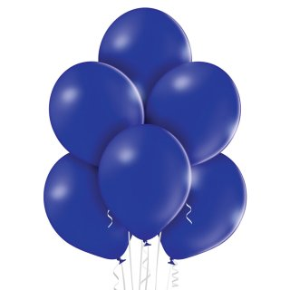 100 Luftballons Blau-Dunkelblau Pastel ø30cm